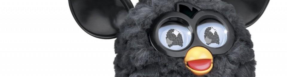 A Black Furby